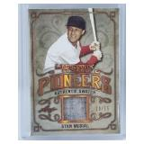 Stan Musial Game Used Jersey Card 10/15 Made