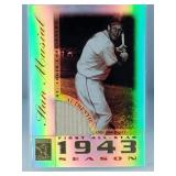 2003 Topps Tribute Stan Musial Game Used Bat Card