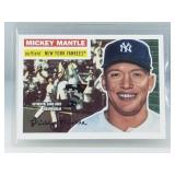 2007 Topps Mickey Mantle Game Used Card MMR-56