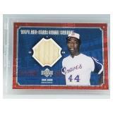 2001 Upper Deck Hank Aaron Game Used Bat