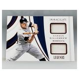 Harmon Killebrew Game Used Jersey Card 5/15 Made
