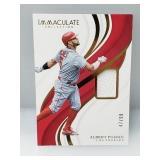 2019 Albert Pujols Game Used Jersey Card 47/99