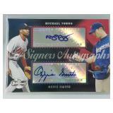 Topps Co-Signers Ozzie Smith & Michael Young Card
