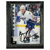 Pavol Demitra Signed St Louis Blues Card