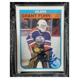 1992 O-Pee-Chee Grant Fuhr Signed Card