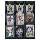 Panthers Predators Signed & Relic Card Lot