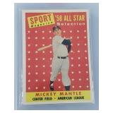 1958 Topps Mickey Mantle Sport Magazine All Star