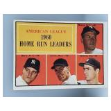 1961 Topps Mickey Mantle & Roger Maris #44