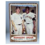 1962 Topps Mickey Mantle & Willie Mays #18