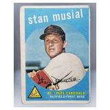 1959 Topps Stan Musial #150