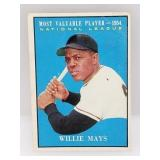 1961 Topps Willie Mays #482