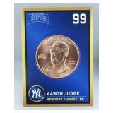 1 oz .999 Copper Aaron Judge - New York Yankees