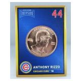 1 oz .999 Copper Anthony Rizzo - Chicago Cubs