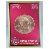 1 oz .999 Copper Bryce Harper