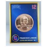 1 oz .999 Copper Francisco Lindor