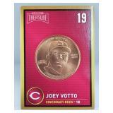 1 oz .999 Copper Joey Votto - Cincinnati Reds