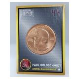 1 oz .999 Copper Paul Goldschmidt