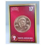 1 oz .999 Copper Rhys Hoskins - Phillies
