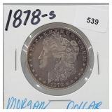 1878-S 90% Silver Morgan $1 Dollar