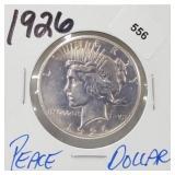 1926 90% Silver Peace $1 Dollar