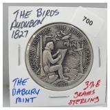Danbury Mint Audubon Society Round