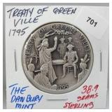 Danbury Mint Treaty of Greenville Round