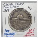 Danbury Mint Crystal Palace Exhib Round