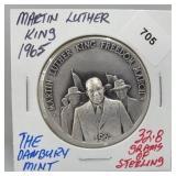 Danbury Mint Martin Luther King Round