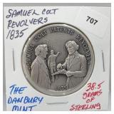Danbury Mint Samuel Colt Revolver Round