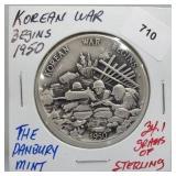 Danbury Mint Korean War Round