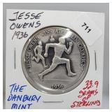 Danbury Mint Jesse Owens Olympic Round