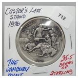 Danbury Mint Custer