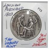 Danbury Mint Louisana Purchase Round