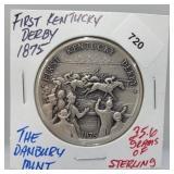 Danbury Mint First Kentucky Derby Round