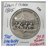 Danbury Mint Lewis & Clark Round