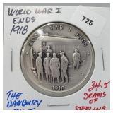Danbury Mint WWI Ends Round