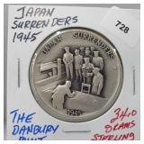 Danbury Mint Japan Surrenders Round