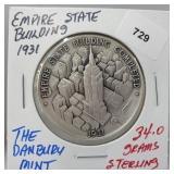 Danbury Mint Empire State Building Round
