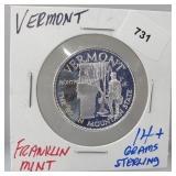Franklin Mint Vermont Round