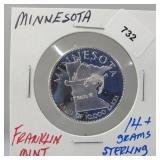 Franklin Mint Minnesota Round