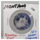 Franklin Mint Montana Round