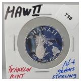 Franklin Mint Hawaii Round