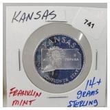 Franklin Mint Kansas Round