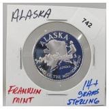 Franklin Mint Alaska Round