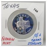 Franklin Mint Texas Round