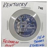 Franklin Mint Kentucky Round