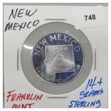 Franklin Mint New Mexico Round