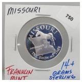 Franklin Mint Missouri Round