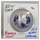 Franklin Mint New York Round