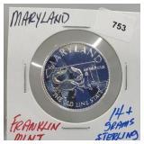 Franklin Mint Maryland Round